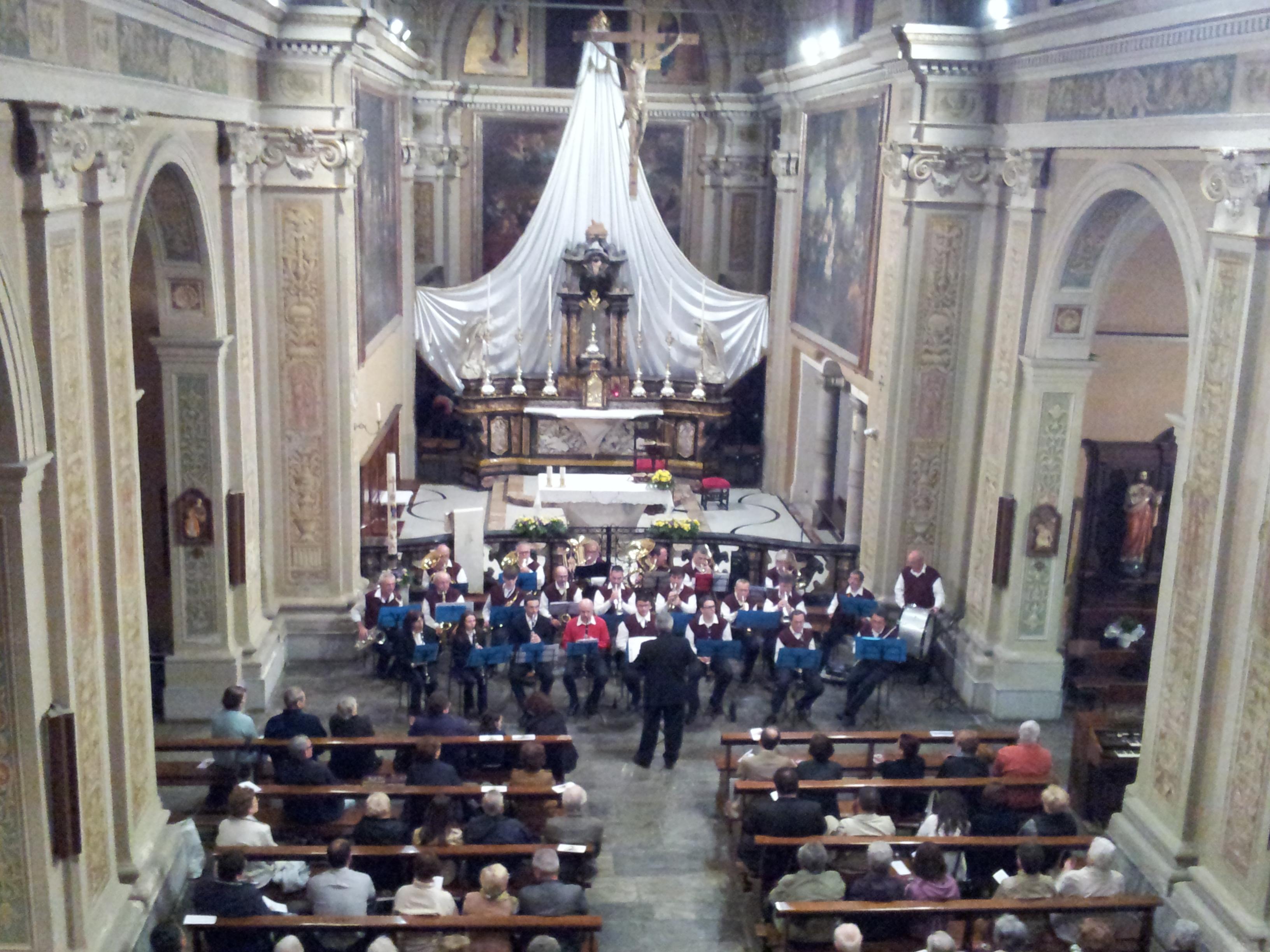 Corpo Musicale Parrocchiale - Concerto di Primavera 2013